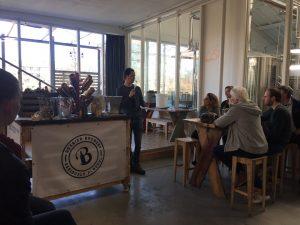 Jeroen Bax intoducteert de cursus bierbrouwen