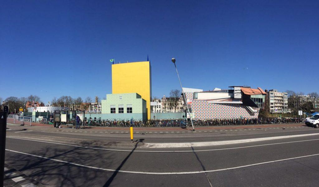 Groninger Museum vanaf station