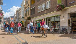 Winkelstraat Zwanestraat Groningen van Hiddemafotografie