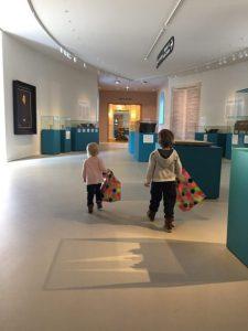 Met kinderen in Groninger Museum