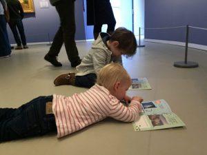 Opdrachten maken in Groninger Museum