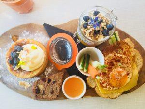 Ontbijten met een ontbijtplank in Groningen bij Wadapartja
