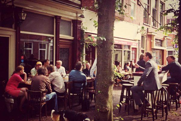 Terras Groningen: Cafe de Minnaar