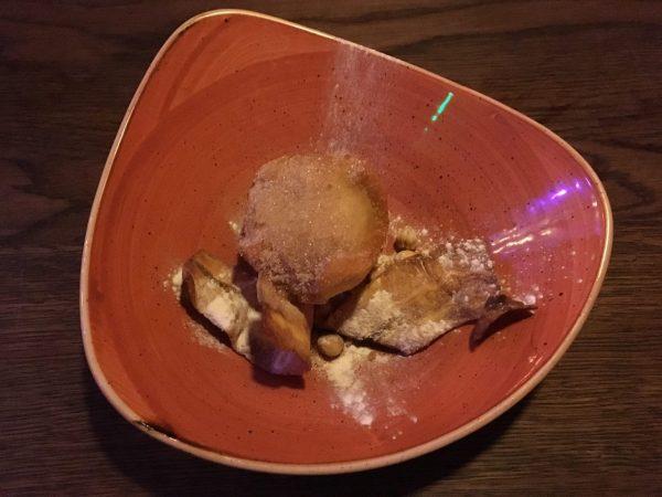 Uit eten Groningen: toetje bij El Santo, Mexicaans restaurant