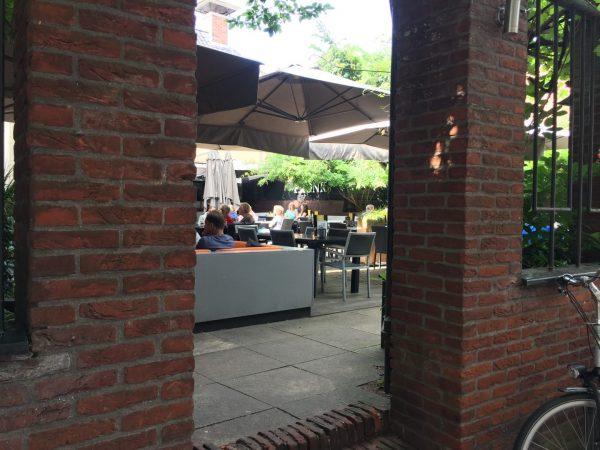 Terras Groningen: Pronk stads- en terrascafé