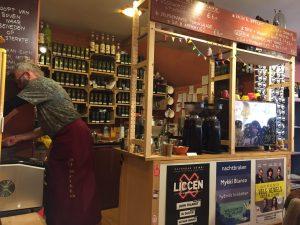 Lunchen Groningen- Anne in de koffieschenkhoek van Bij Britta Groningen