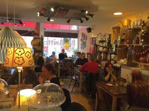 Lunchen Groningen vintage stijl Bij Britta