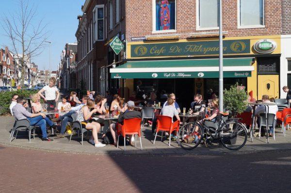 Terras Groningen: Café de Klikspaan