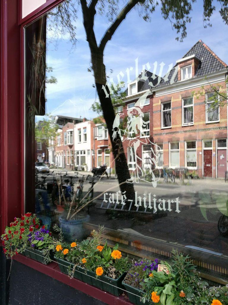 cafe Merleyn in De Oosterpoortwijk Groningen