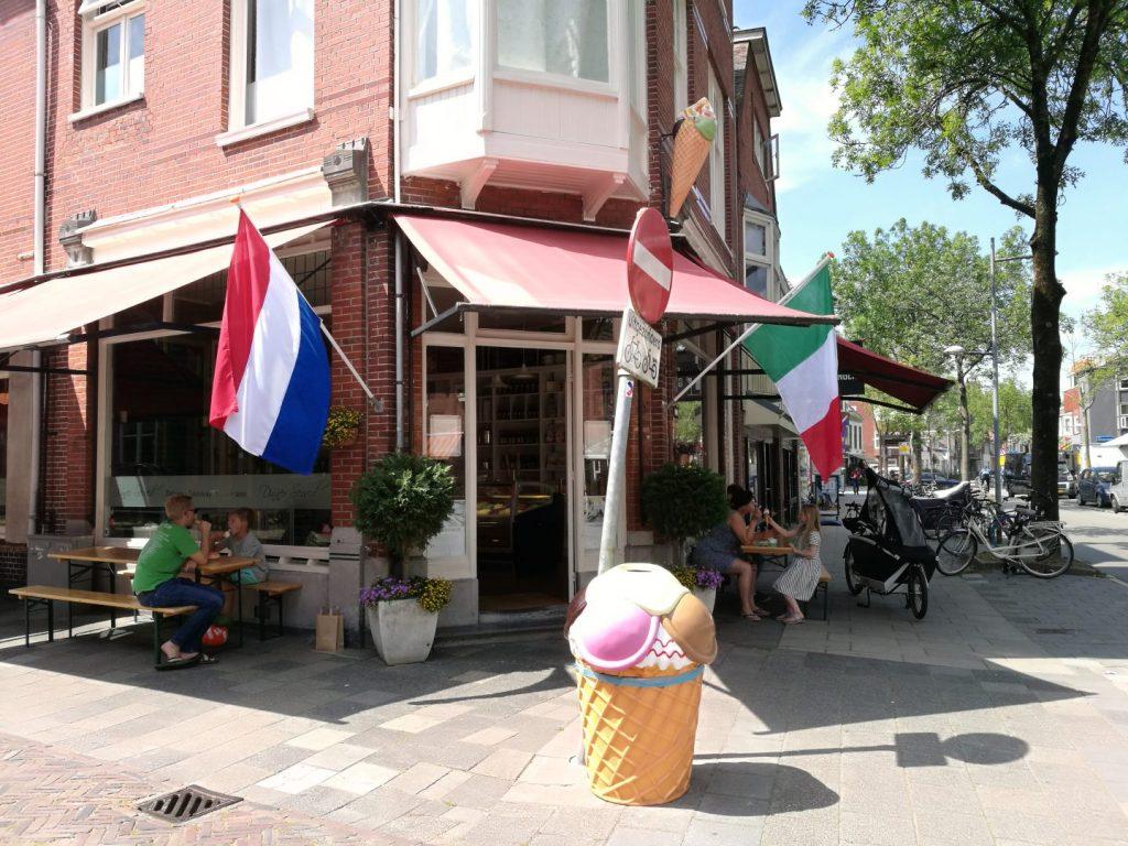 Italiaans ijs en heerlijk eten in De Oosterpoortwijk in Groningen