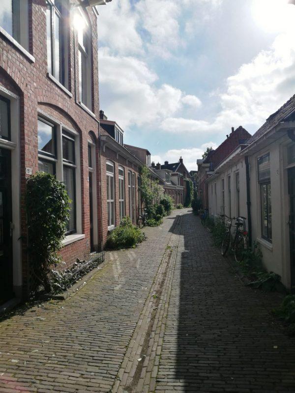Dorpse sfeer Oosterpoortwijk Groningen