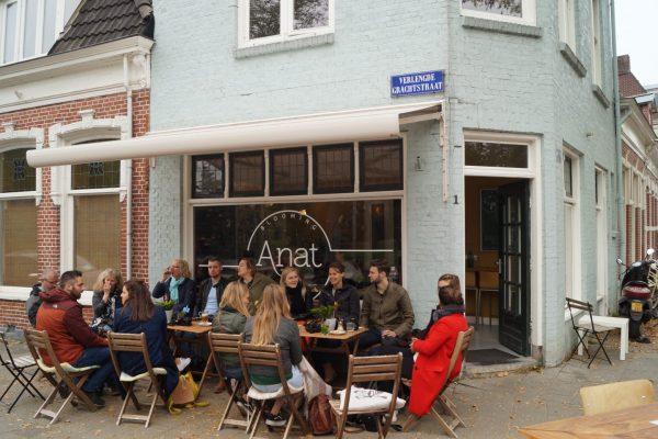 Vegan hotspot Groningen Anat tijdens herfst fototour 21 okt 2018