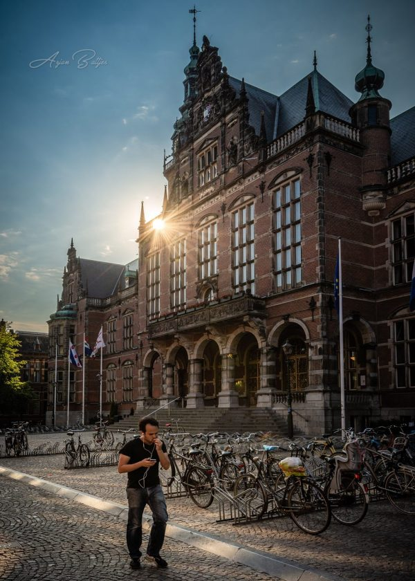 Stadswandeling Groningen: workshop fotografie Melvin Jonker- foto van Arjan Battjes