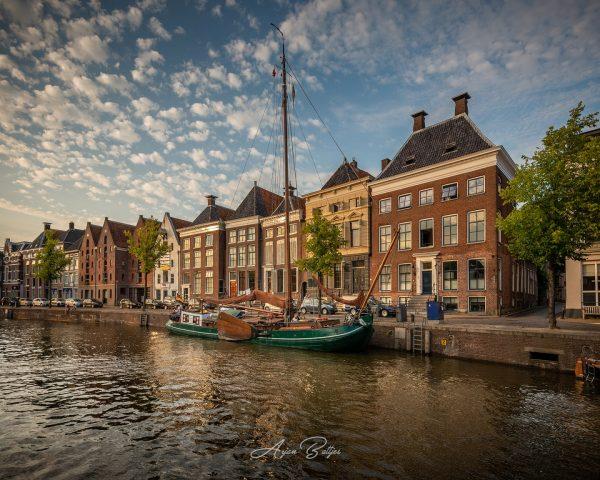 Stadswandeling Groningen: workshop zonsondergang fotografie Melvin Jonker- foto van Arjan Battjes