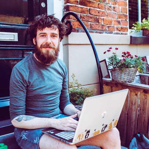 Thomas de Jong - blogger I Go Groningen