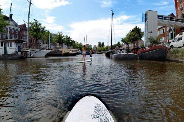 Suppen Groningen: wateractiviteiten en date ideeen Groningen- Foto WanderWinks