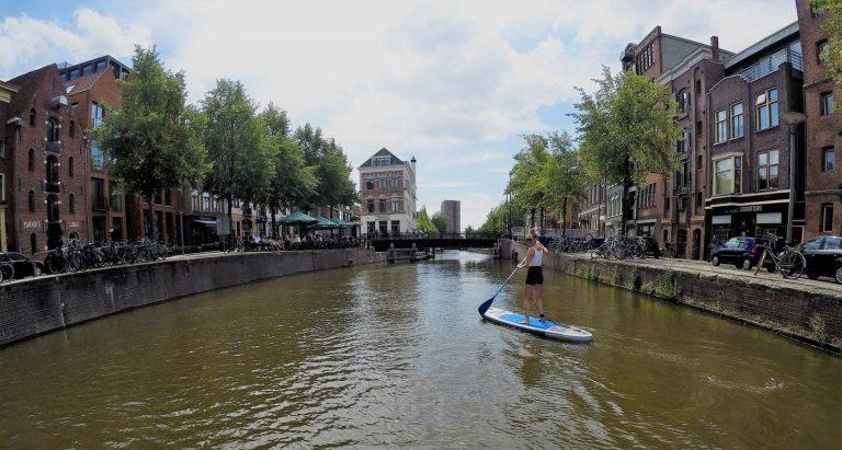Surf's sup! Suppen Bij de Sluis in Groningen
