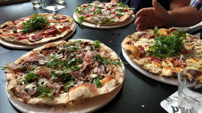 Pizza eten bij Buurman & Buurman: kon minder!
