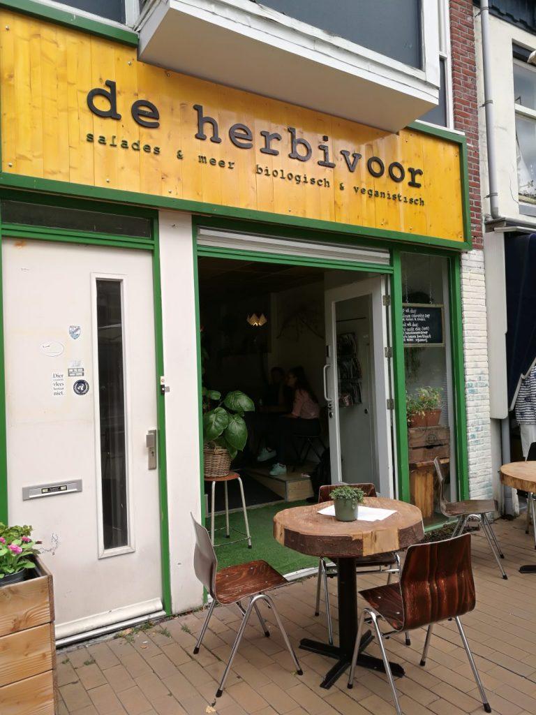 Veganistisch restaurant De Herbivoor Groningen