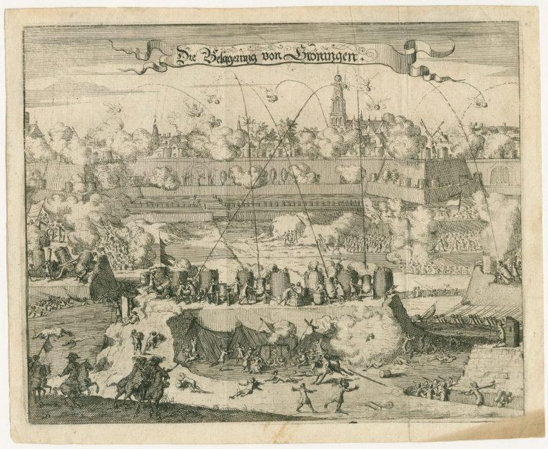 Bommen Berend en het Gronings Ontzet op 28 augustus