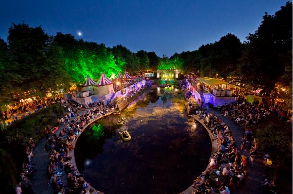 Noorderzon Groningen: festival in Noorderplantsoen