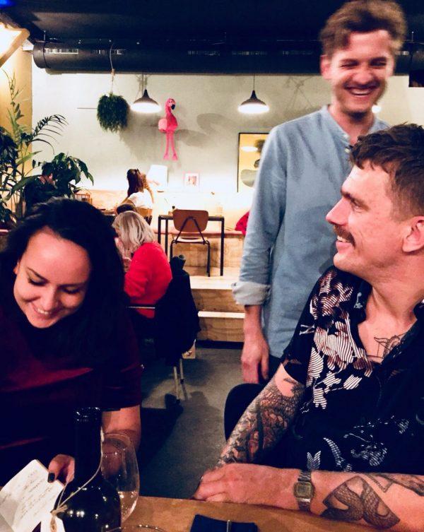 Achterwerk Groningen: Jorn in restaurant Groningen Oosterstraat