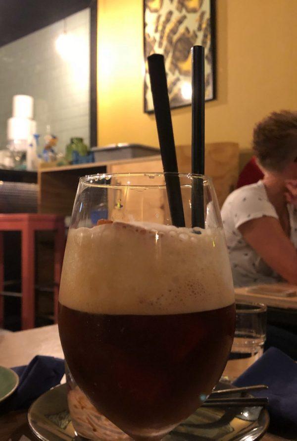 Achterwerk Groningen: toetje eten in restaurant Groningen Oosterstraat