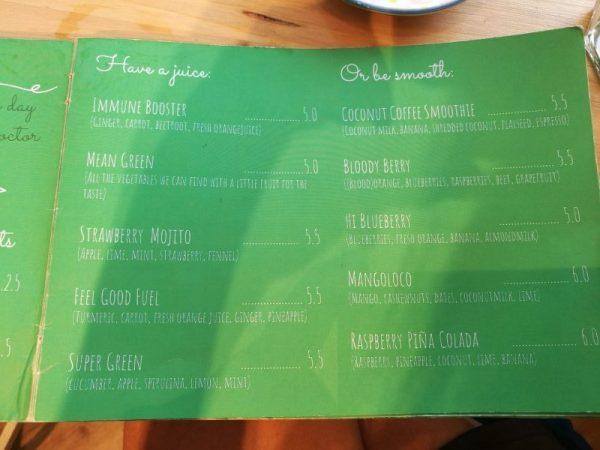 Feel Good Groningen: gezonde juices bij je vegan ontbijt of lunch