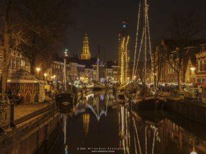 Winterwelvaart foto door Wil de Boer - fotowandeling Groningen