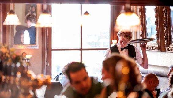 Je zit altijd goud bij Grand Café Hooghoudt