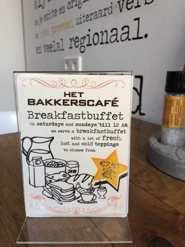 Ontbijt Groningen: Bakkerscafe