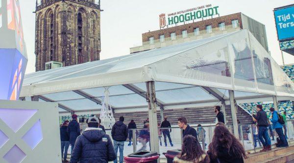 Schaatsen Grote Markt Groningen: Groningen on Ice ijsbaan