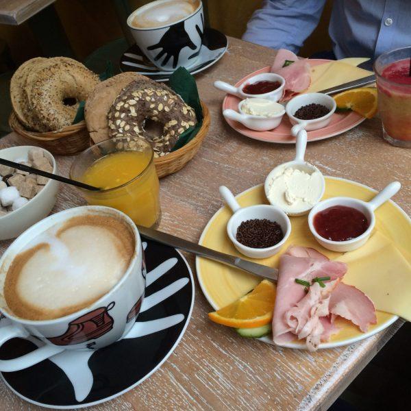 Ontbijt Groningen: Bagels en Beans
