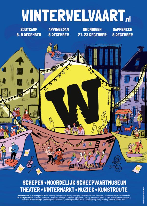 Winterwelvaart Groningen 2018