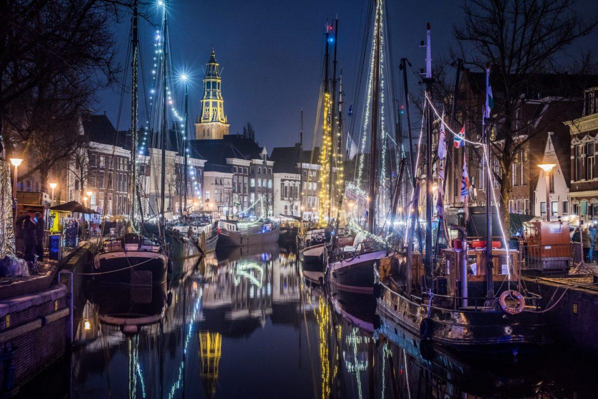 Winterwelvaart Groningen: hoge en lage der a