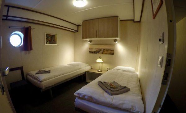 Hotelboot overnachting Groningen