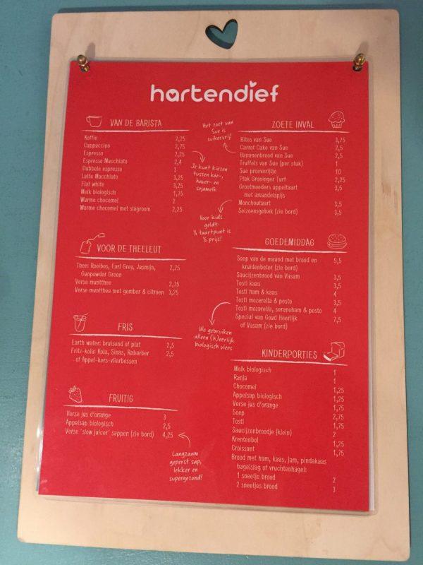 Kindvriendelijk restaurant Groningen: Hartendief in Oosterstraat
