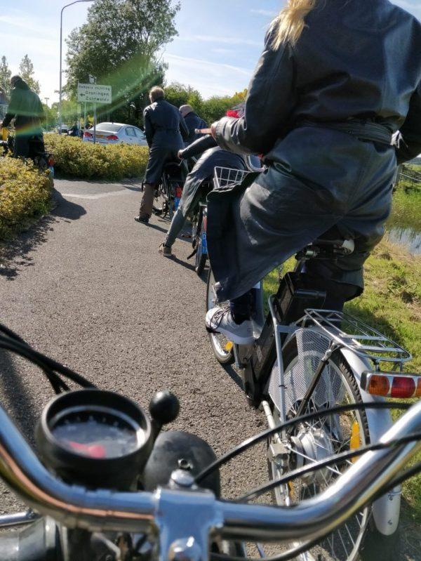 Solex rijden Groningen - activiteiten voor groepen