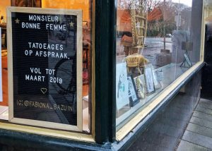 Tattoo shop Groningen monsieur bonne femme