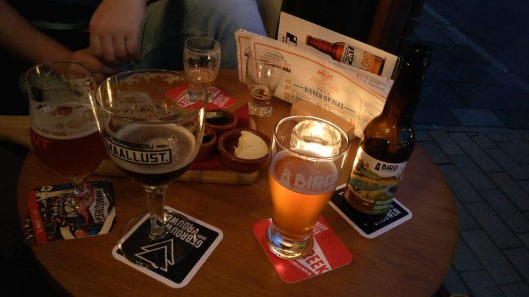 MOUT: modern speciaalbiercafé met Neerlands beste gerstenat