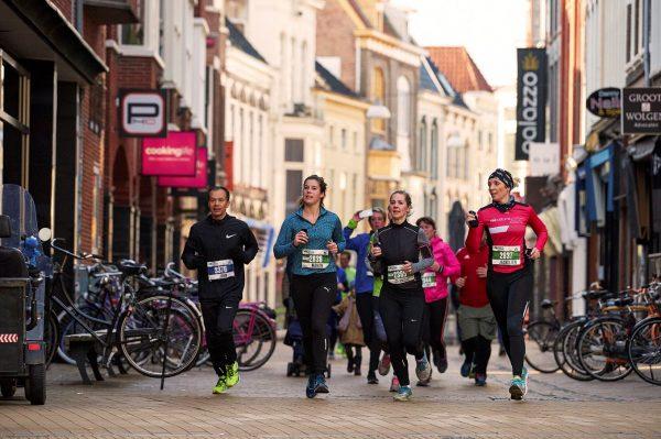 Groningen hardlopen stad