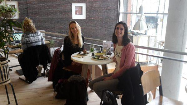 Vegan koffie en taart Groningen