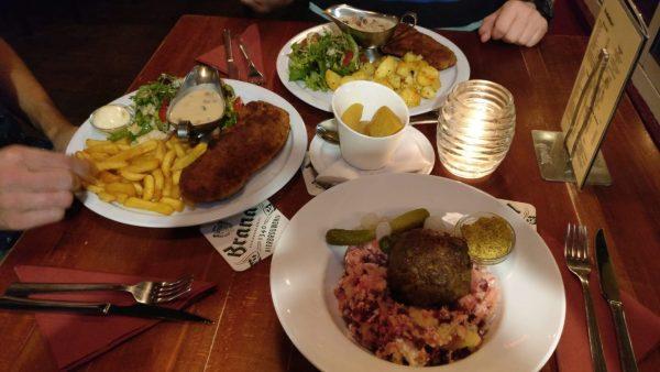 eenvoudige menukaart lekker eten Groningen
