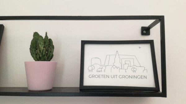 Ansichtkaarten Groningen: ook leuk als woonaccessoire om als poster in te lijsten