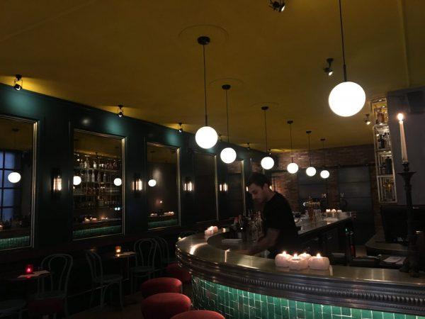 Cinq Groningen cocktailbar interieur