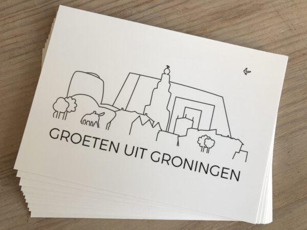 Ansichtkaarten Groningen: analoge groeten uit Groningen