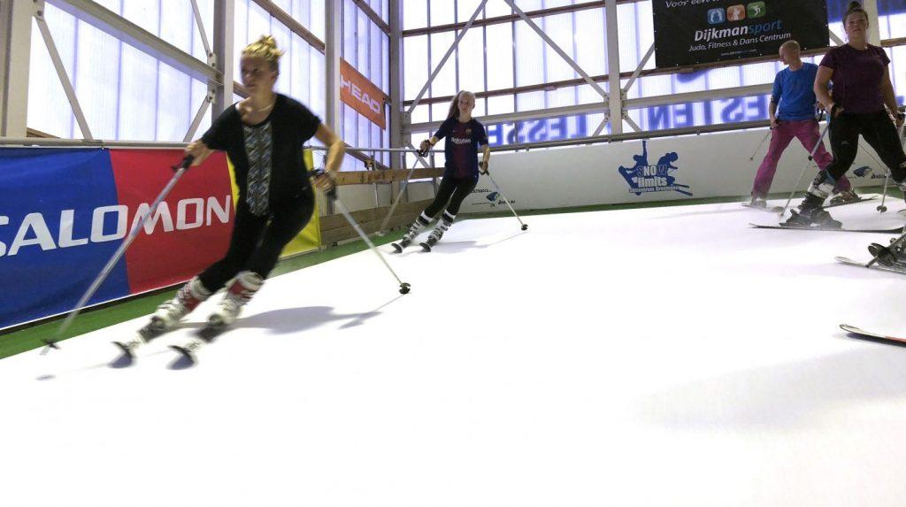 Wintersport begint op Groningse grond