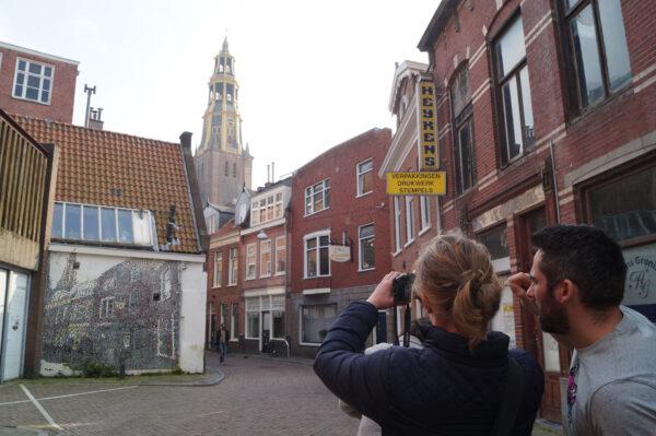 fotografie cursus groningen met aansluitend stadswandeling