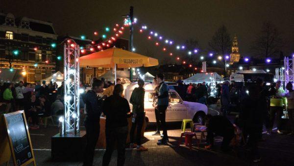 Nacht van Groningen 2019: hardlopen tijdens hardloopwedstrijden Groningen