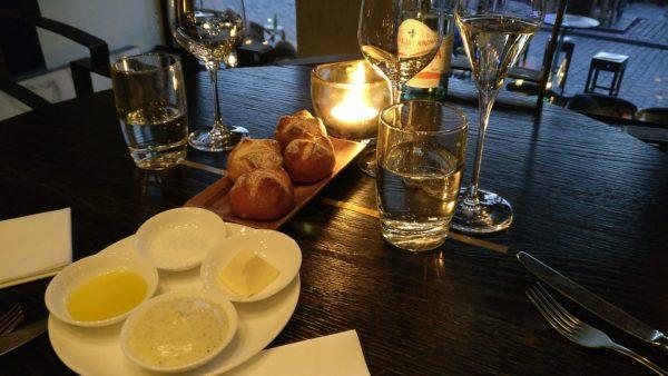 De Pijp Groningen: luxe restaurant met wijnarrangement - broodje boter